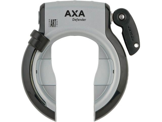 Axa Defender Frameslot Intrekbaar, silver